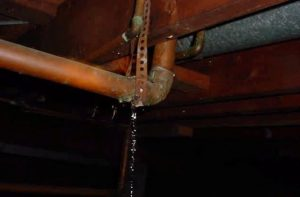 leak repairs required