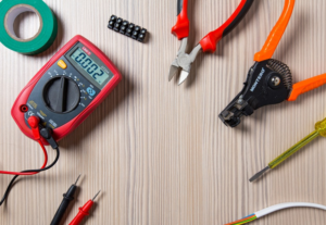 Experience, right electrical tools